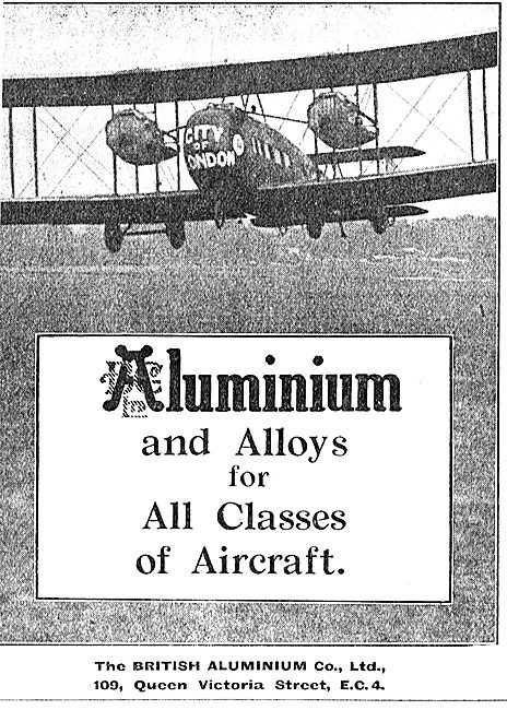 British Aluminium And Alloys For All Classes Of Aircraft