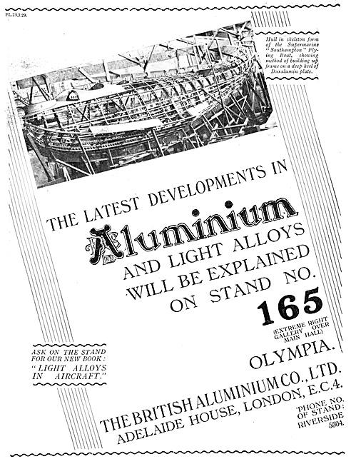 British Aluminium 1929