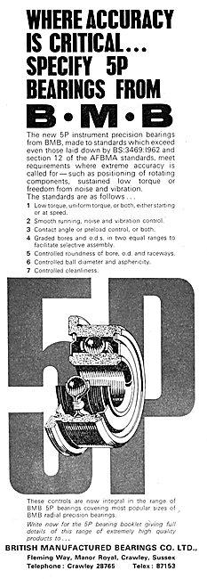 British Manufactured Bearings - B.M.B. Bearings