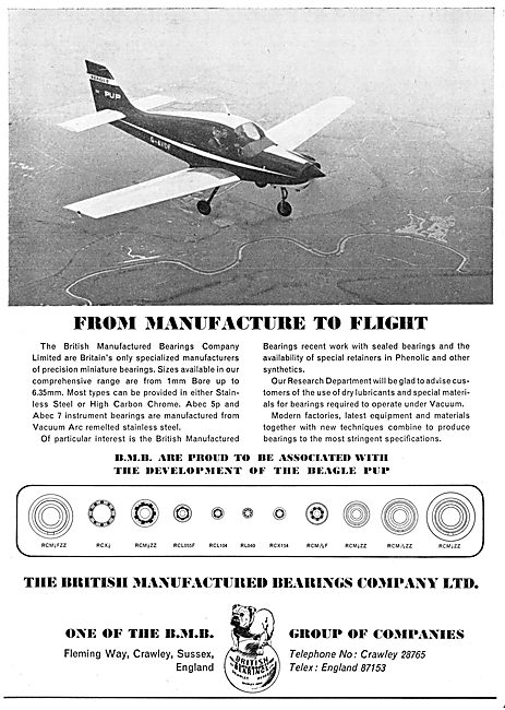 BMB British Manufactured Bearings