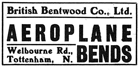 British Bentwood Company. Aeroplane Bends