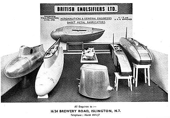 British Emulsifiers - Sheet Metal Fabrications & Prototyping
