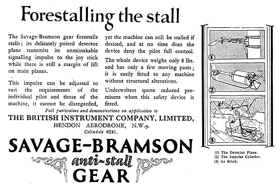 Savage-Bramson Anti Stall Gear - Forestalling The Stall