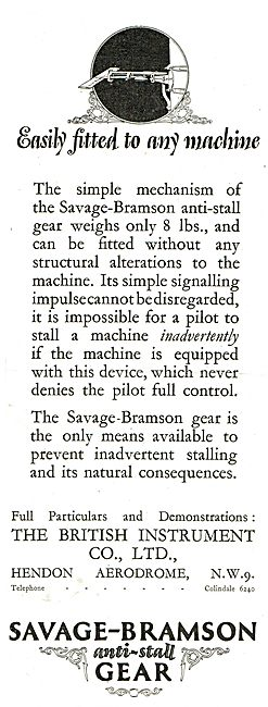 Savage-Bramson Anti Stall Gear - Easily Fitted To Any Machine