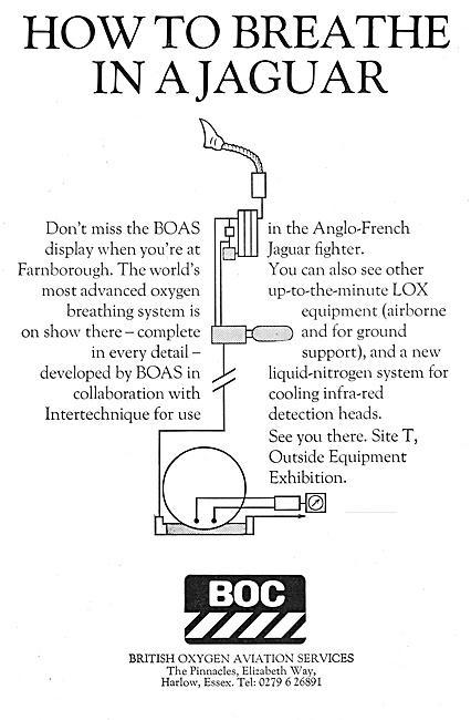 British Oxygen Company - BOC Aviation Service 1968