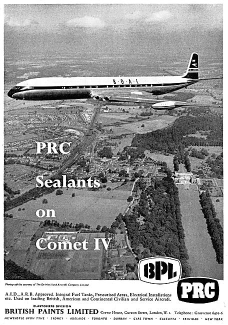 British Paints Aircraft Finishes - BPL Elastomer Sealants