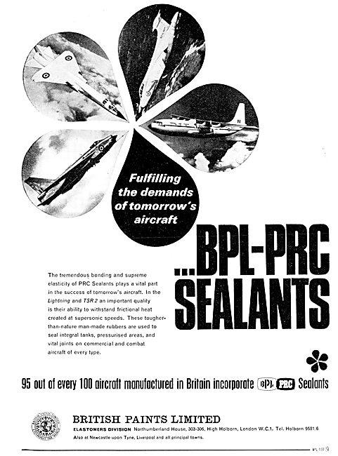 British Paints - Aircraft. Paints, Finshes & Sealants