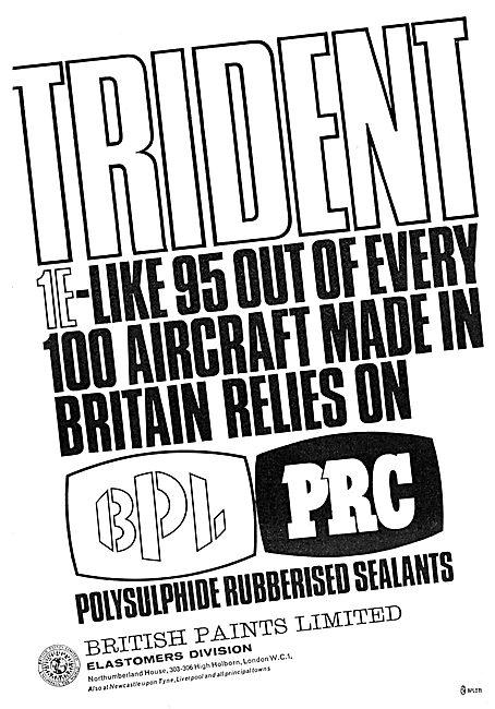 British Paints. Polysulphide Rubberised Sealant. PRC Sealants