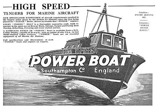 British Power Boat Company - High Speed Marine Tenders