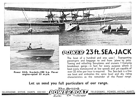 British Power Boat Company 23' Sea-Jack 1933