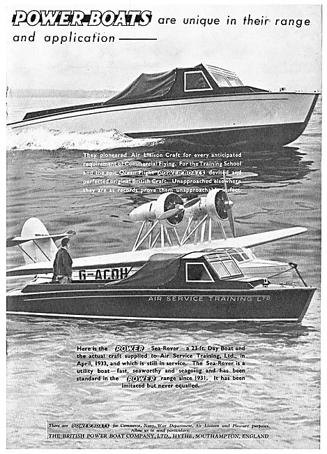 British Power Boat Company - Air Liaison Craft