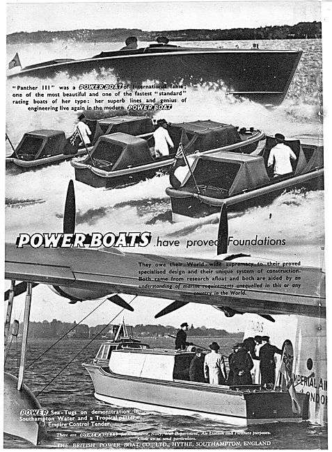 British Power Boat Company - Panther III Power Boat