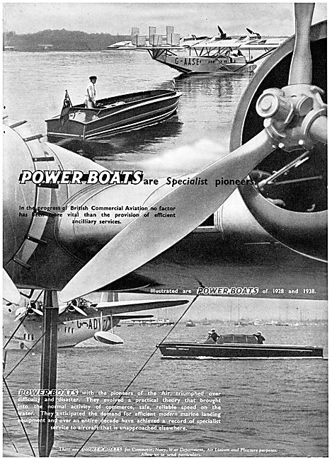 British Power Boat Company General Service Launches