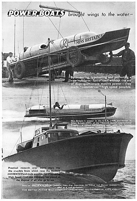 British Power Boat Company Miss Britain