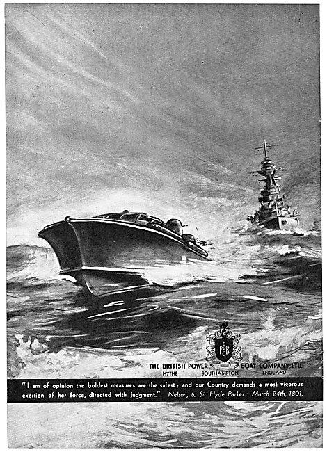 British Power Boat Company : Scott-Paine Motor Boats