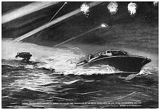 British Power Boat Company Motor Torpedo Boats
