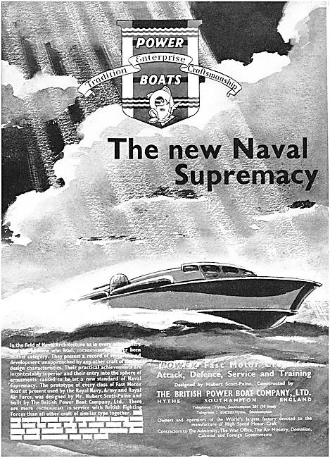 British Power Boat - Fast Motor Boats