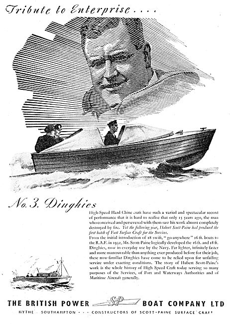 British Power Boat Company - Dinghies
