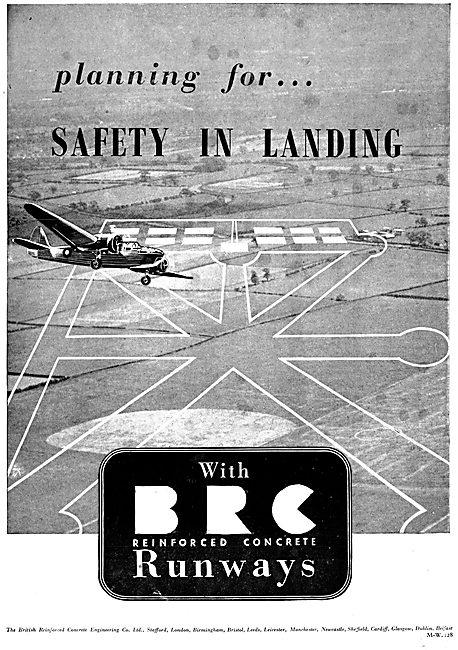 The British Reinforced Concrete : BRC Runways