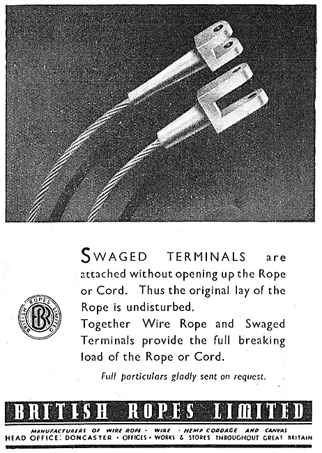 British Ropes Swaged Terminals - Wire Ropes