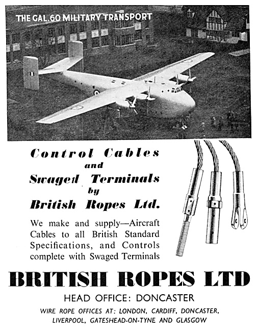 British Ropes Control Cables & Swaged Terminals