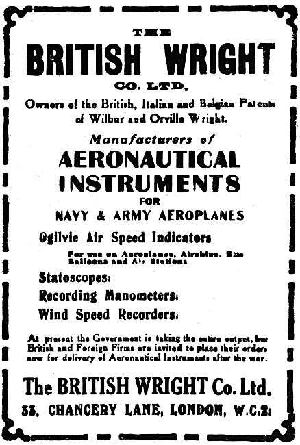 British Wright Aeronautical Instruments