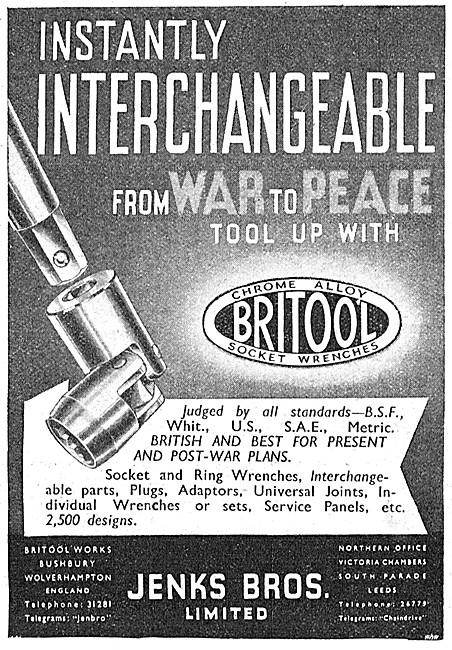 Britool Spanners, Socket Sets & Tools