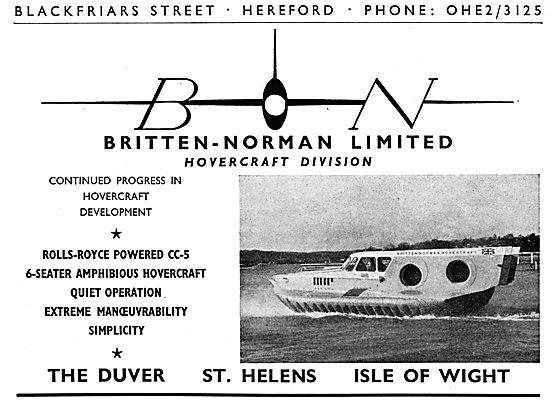 Britten-Norman CC-5 Hovercraft
