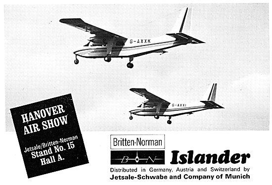 Britten-Norman Islander - Jetsale-Schwabe