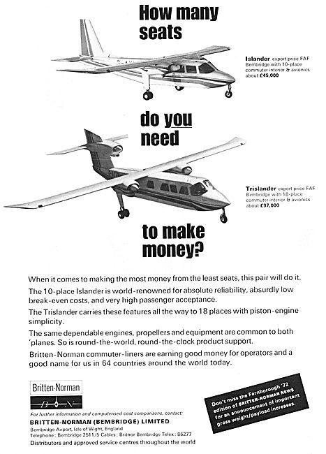Britten-Norman Islander - Britten-Norman Trislander
