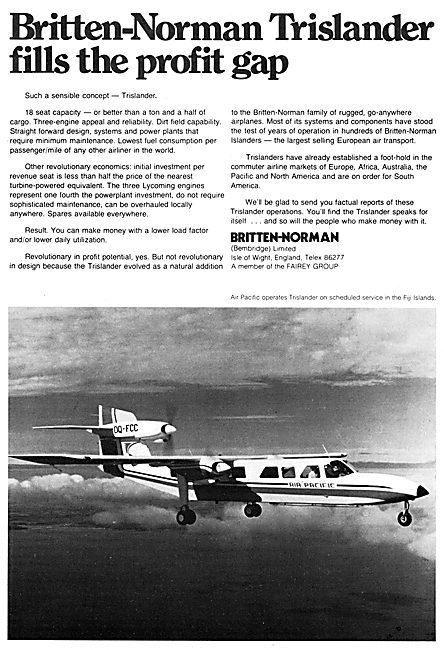 Britten-Norman TrIslander