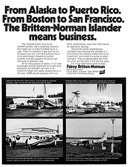 Fairey Britten-Norman Islander