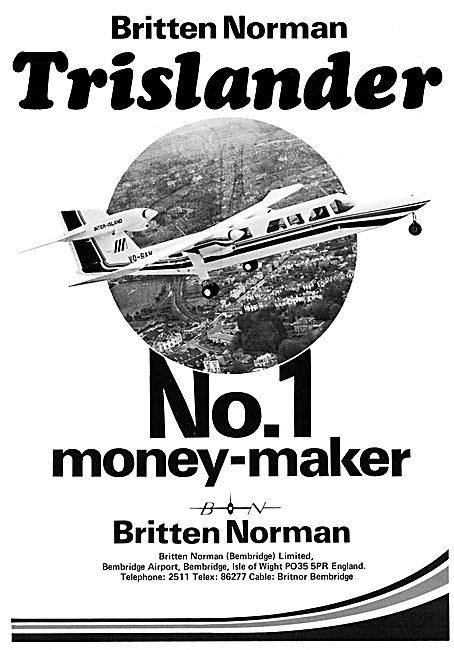 Britten-Norman Trislander 1978