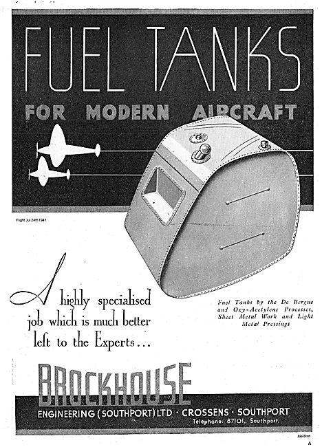 Brockhouse Fuel Tanks Manufactured By The De Bergue Process
