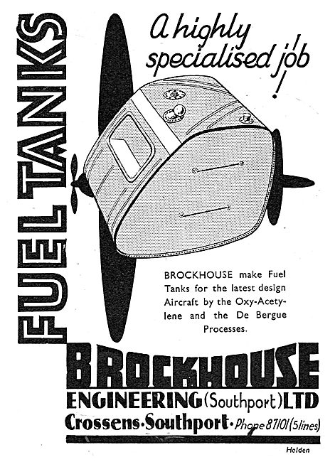Brockhouse Engineering - Fuel Tanks, Sheet Metal Work, De Bergue