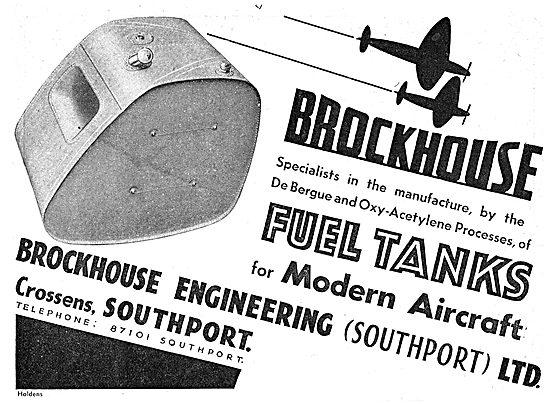 Brockhouse Engineering - Aircraft Sheet Metal Work. Fuel Tanks