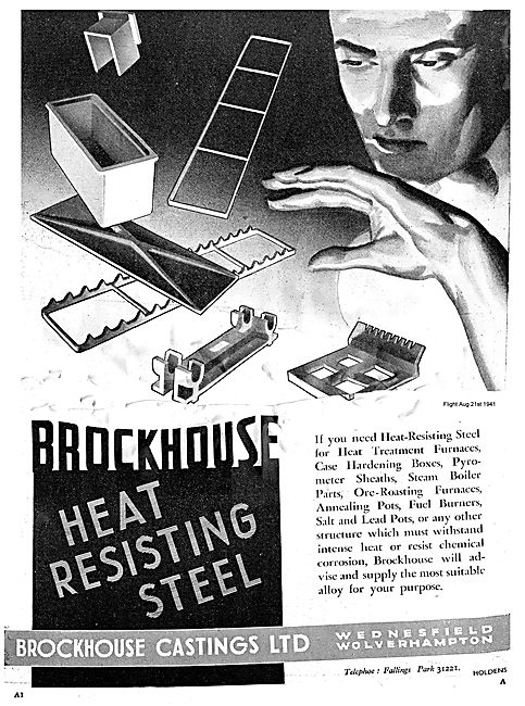 Brockhouse Heat Resisting Steel For Aircraft