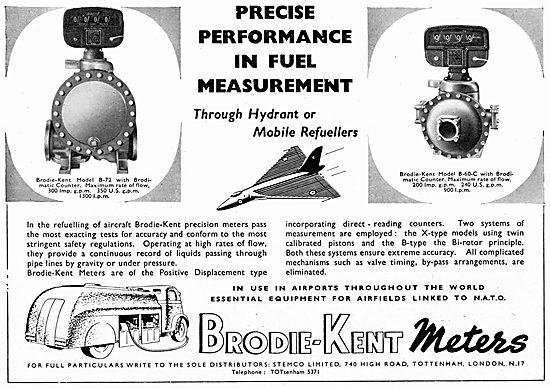 Brodie-Kent Fuel Measurement Meters