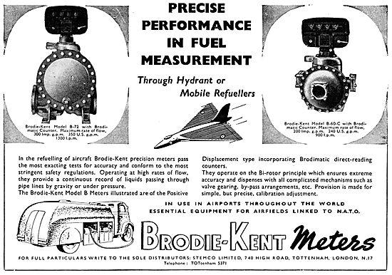 Brodie-Kent Fuel Metering Equipment