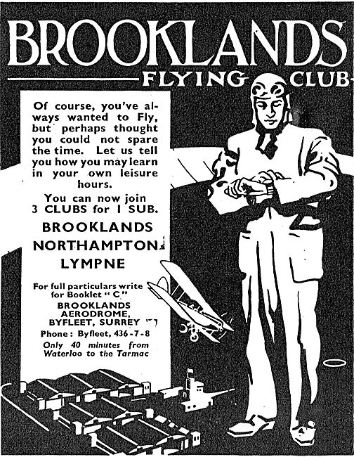 Brooklands School Of Flying - Learn To Fly At Your Leisure