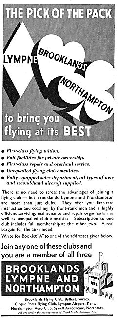 Brooklands Aviation - Training Sales Service - Lympne Sywell