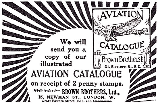 Brown Brothers - Aircraft Parts