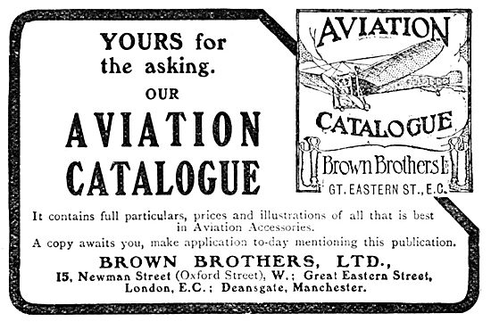 Brown Brothers Aviation Catalogue