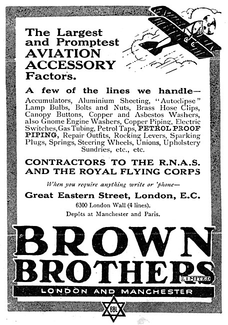 Brown Brothers Aircraft Accessories