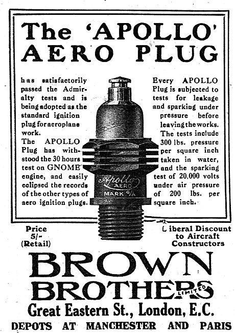 The Brown Brothers Apollo Aero Plug