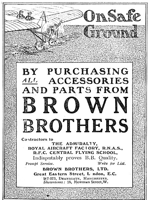 You're On Safe Ground Purchasing Accessories From Brown Brothers