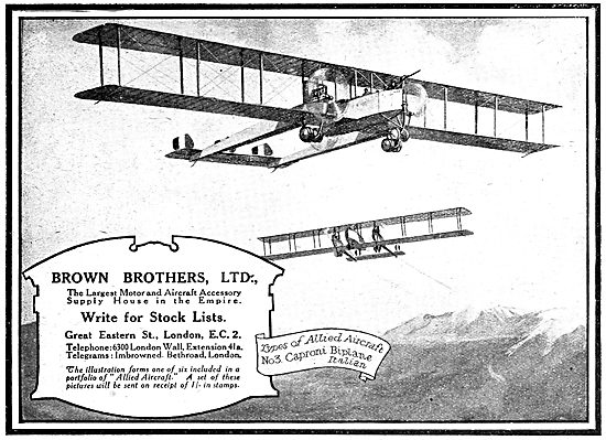 Brown Brothers Aircraft Parts, Accessories & AGS