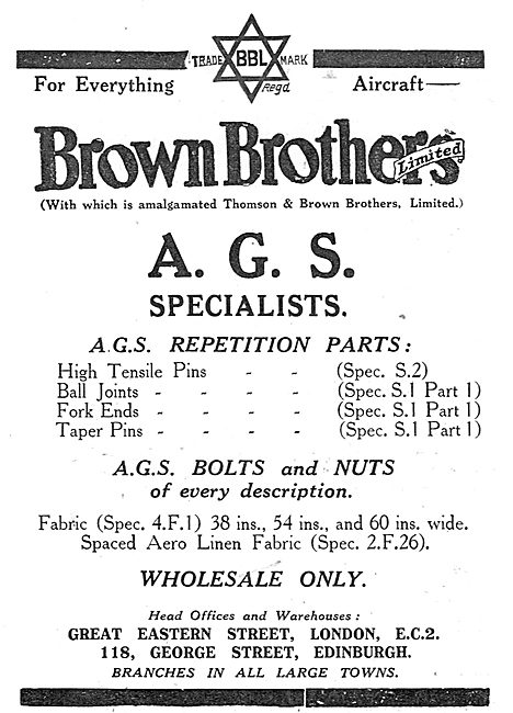 Brown Brothers AGS Specialists