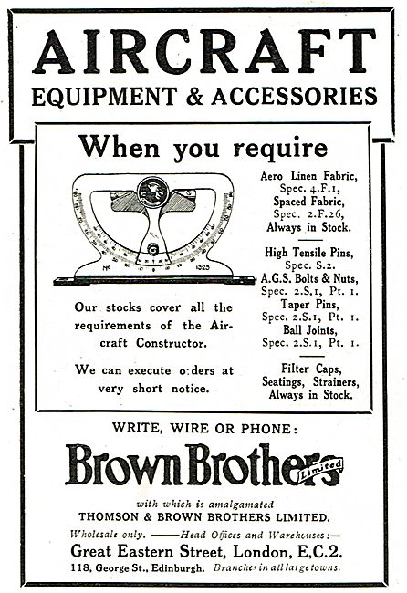 Brown Brothers Filler Caps & Strainers For Aircraft In Stock.