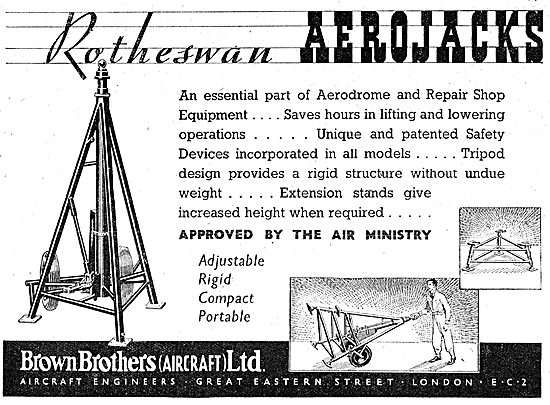 Brown Brothers Rotheswan Aerojacks